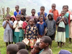 Batwa Kindergruppe