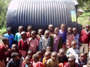 Wassertank garantiert Wasserversorgung