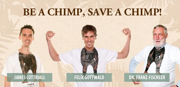 BE A CHIMP - SAVE A CHIMP!