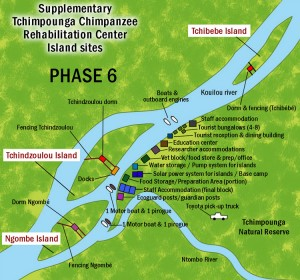 Finaler Ausbau des Inselprojekts