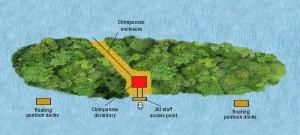 Tchindzoulou Karte