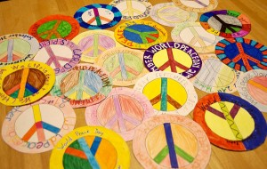 1.Austausch | Thema: Friede