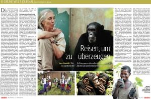 Grüne Welt Kurier Seiten 2+3