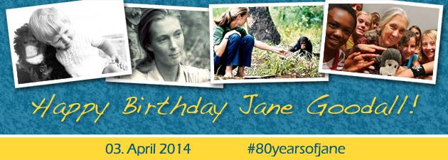 Janes 80.Geburtstag