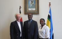 JGI-A-GF Walter Inmann trifft Ugandas Wirtschaftsminister