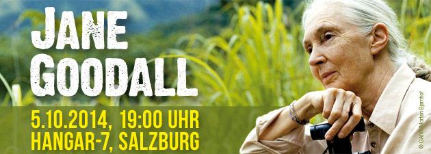 Jane Goodall im Hangar7, Salzburg