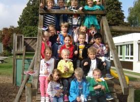 1. Klasse der Adalbert Stifter Schule Ried