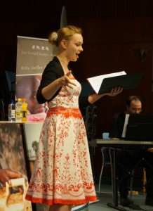 Sängerin Benefizkonzert