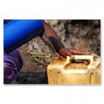 Kostbares Trinkwasser