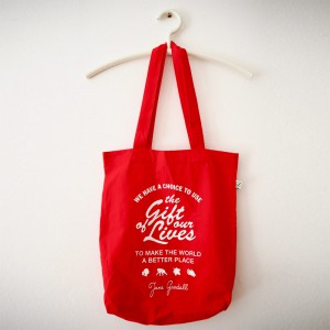 "Organic Fashion Tote-Bag ""Gift of our Life"""